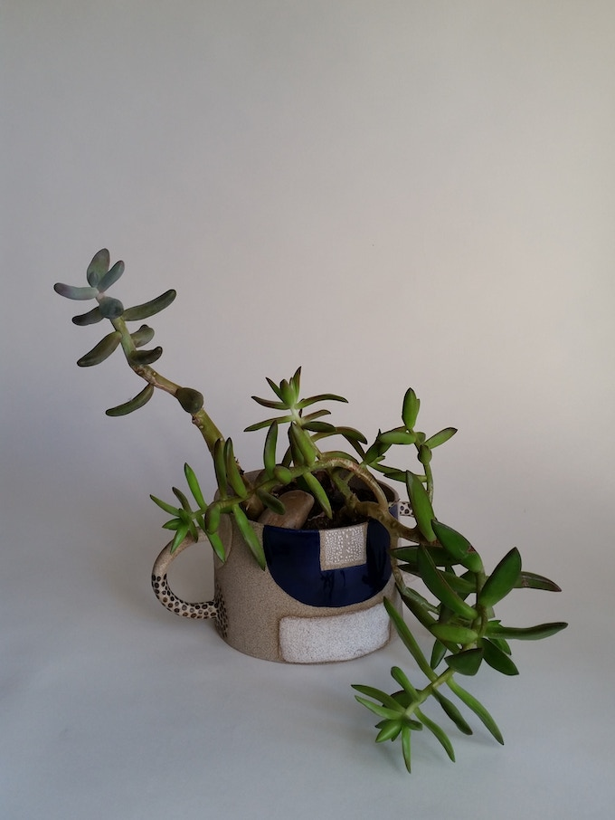 example of one of my double-arm planter - $65 reward