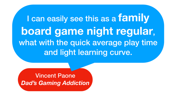 Click the quote for a full review by Dad's Gaming Addiction.