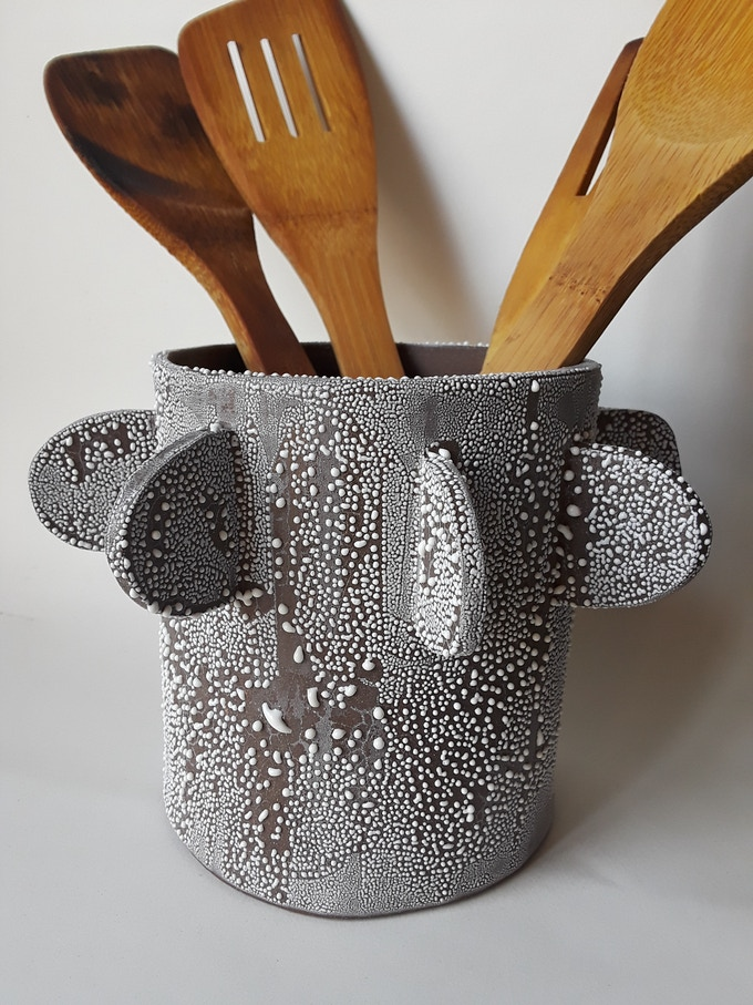 textured utensil container  - $150 reward