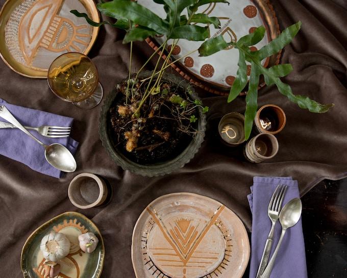 set of 10 dinner plates (custom design for you!) - $500 reward