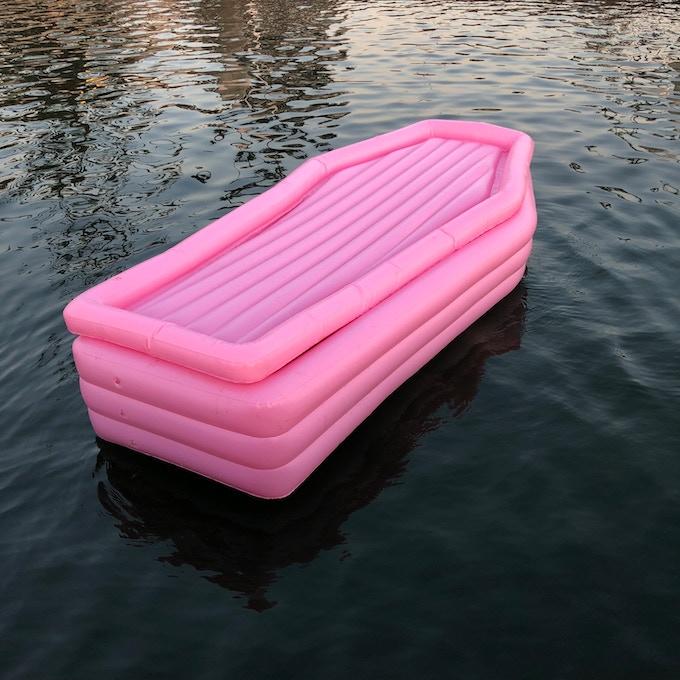 Float around indiscreetly