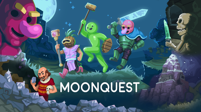 A magic mollusc summons a moonman to illuminate a dark world. A procedurally-generated adventure game for PC, Mac and Linux.