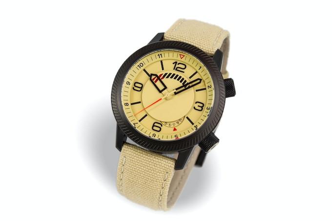 DLC case, sand dial, sand strap