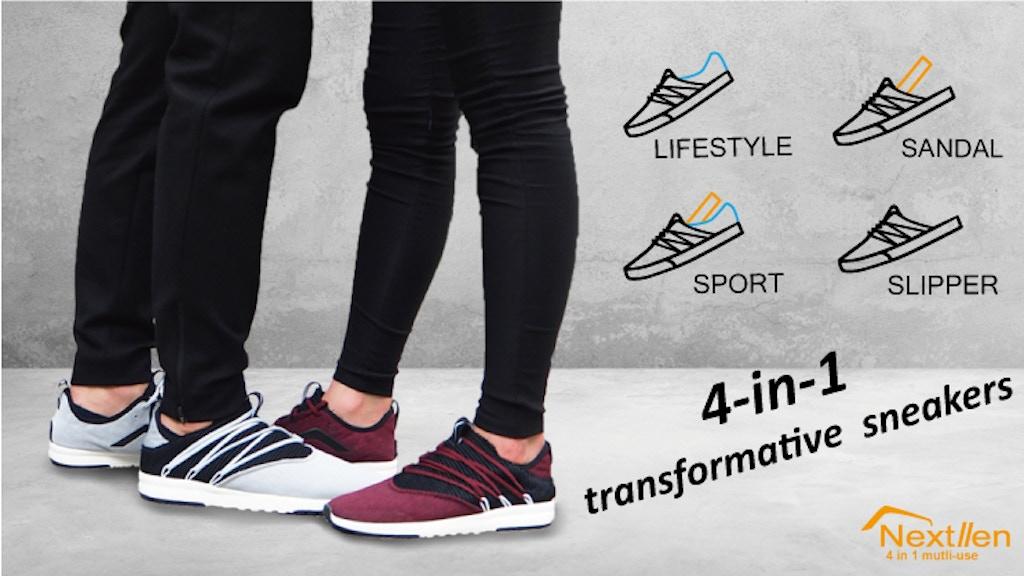 Nextllen: 4-in-1 transformative sneakers
