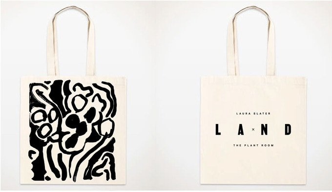 Hand Screen Printed Tote Bag