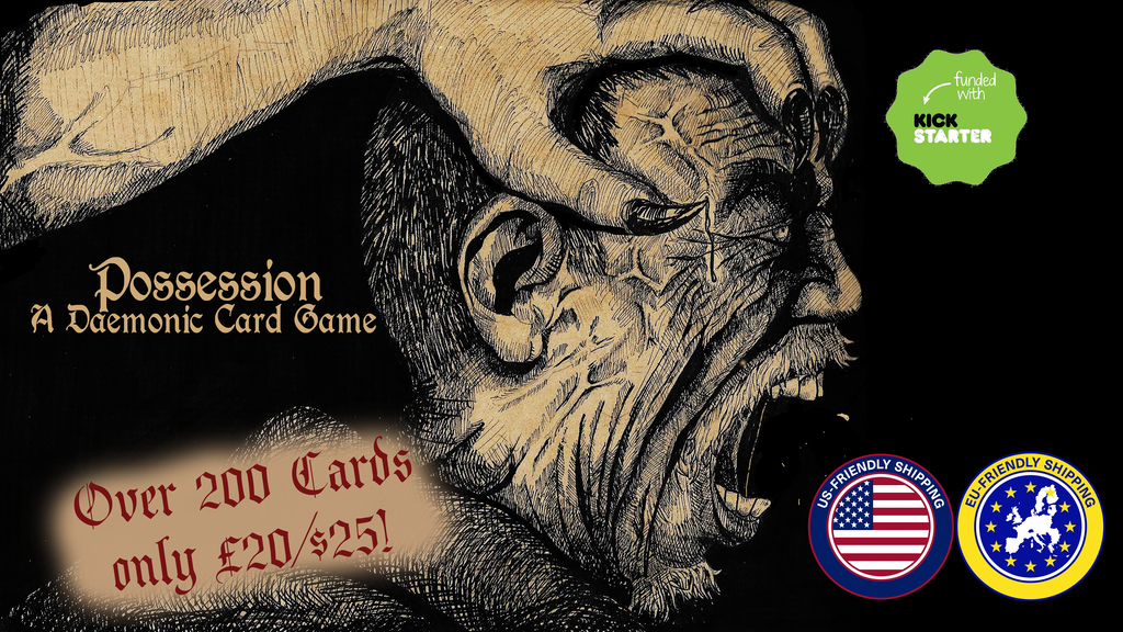Update 21: Batten Down the Hatches: Possession Is Sailing! · Possession, a Daemonic Card Game