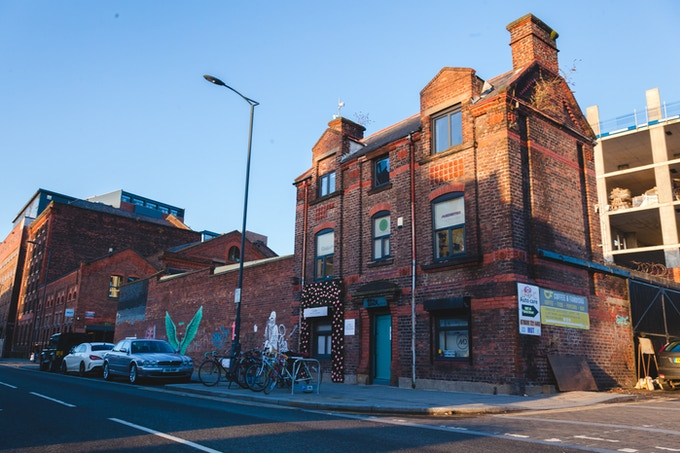 Melodic Distraction Studio, The Baltic Triangle, Liverpool