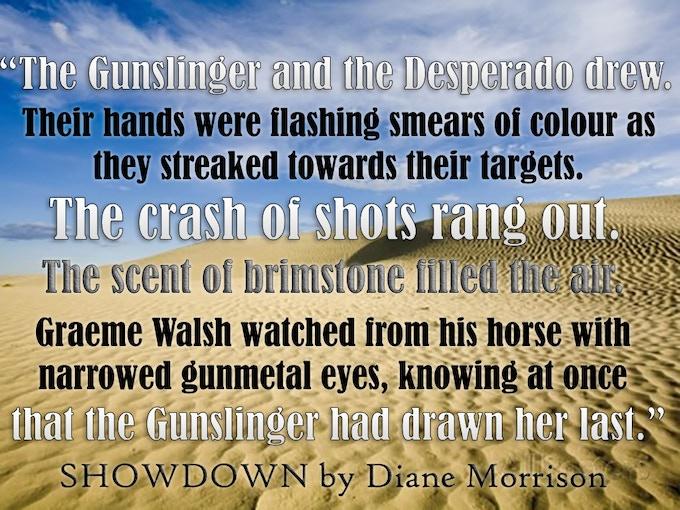 "From ""Showdown"" (Wyrd West Chronicles #1)"