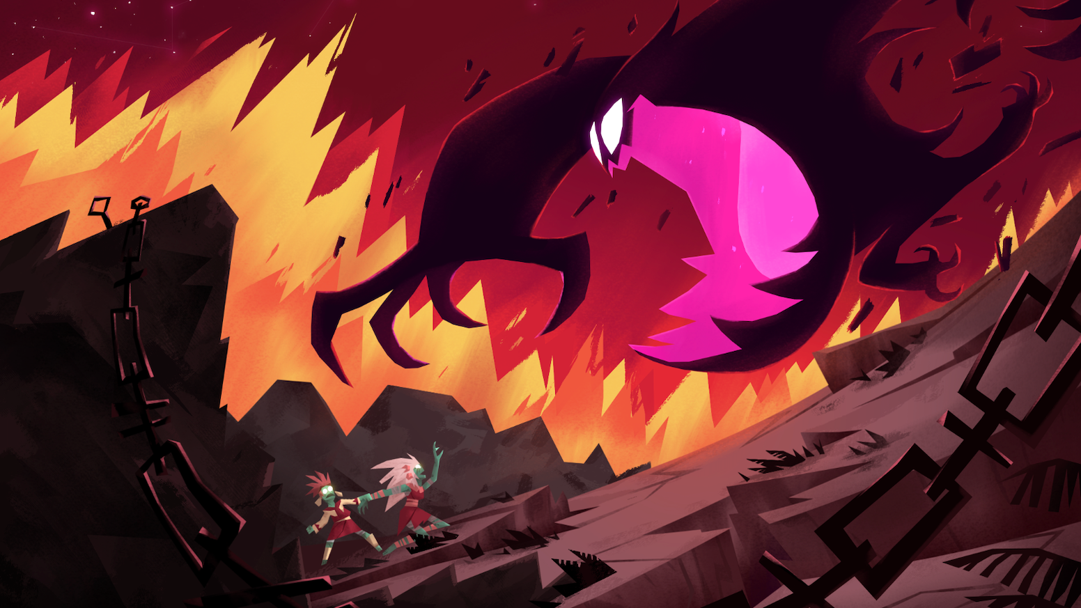 INLIGHT is a merciless and atmospheric 2D action game where everything wants you dead.