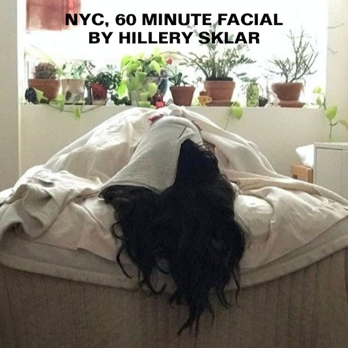BROOKLYN, 60 MIN. FACIAL $200 or more