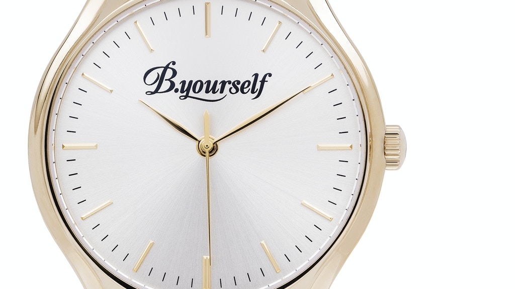 B.yourself Watches - Luxury Needn't Be Expensive