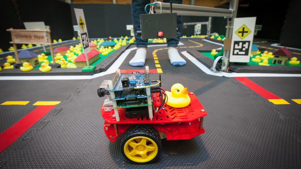 Duckietown: a playful road to learning robotics and AI project video thumbnail