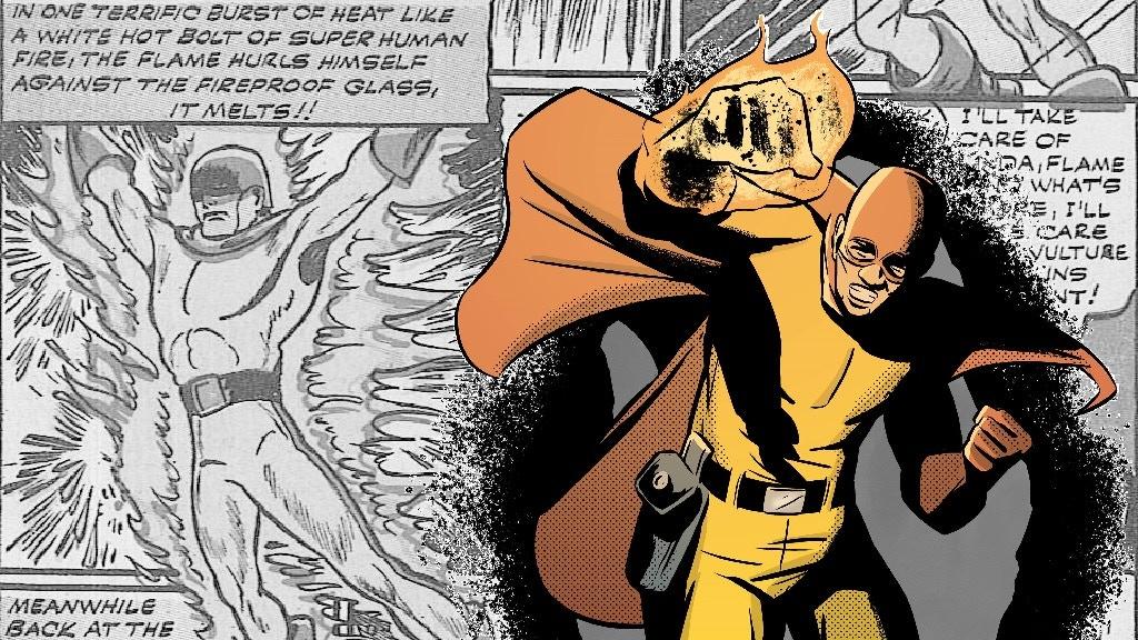 "THE FLAME: RE-BLAZED #1 - A superhero ""Quickstarter"" comic project video thumbnail"