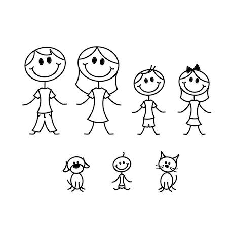 quickstarter stick people family by emma hannay kickstarter
