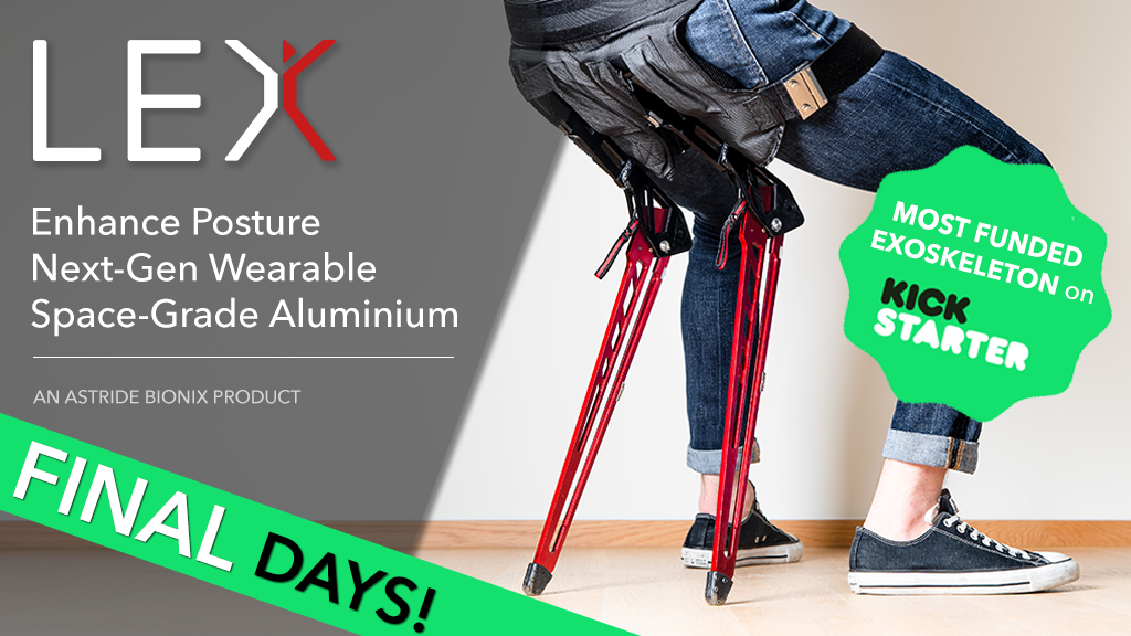 LEX: Bionic Chair that Enhance Posture, Comfort & Life! project video thumbnail
