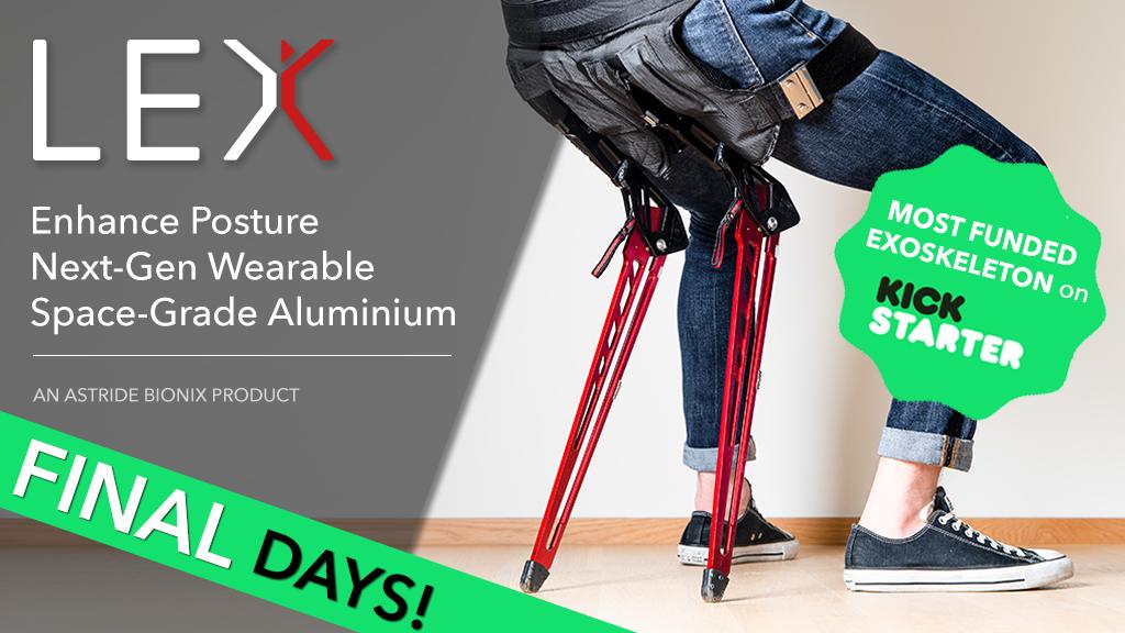 LEX: Bionic Chair that Enhance Posture, Comfort & Life! の動画サムネイル