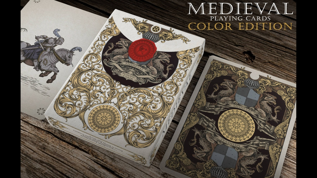Medieval Playing Cards (Gold & Royal Editions) project video thumbnail