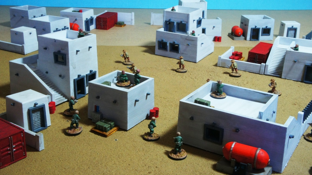 Printable Scenery for Tabletop Wargames