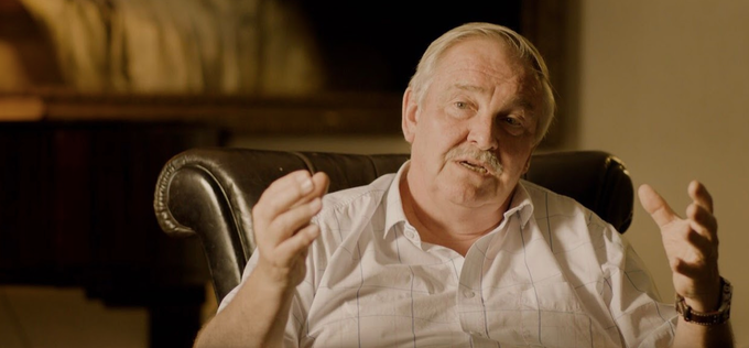Interviewing Professor David Nutt in London, where he shared his insights on drug policy and how our current system is failing us. May, 2018.