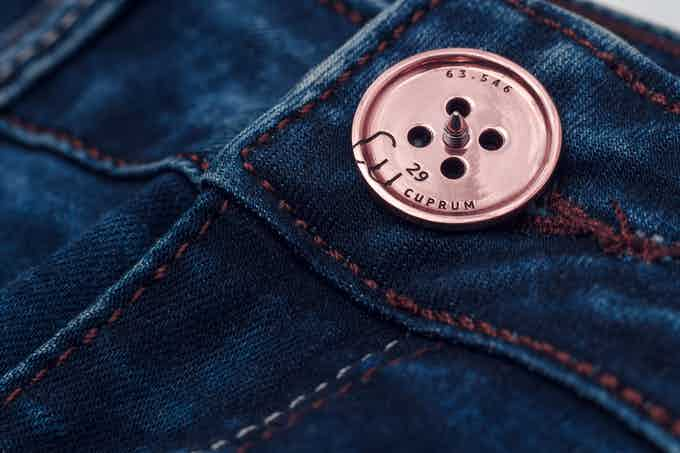 So your jeans will look like.