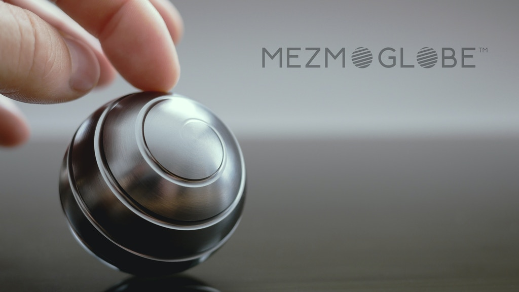 MEZMOGLOBE™- Kinetic desk toy with full body optical ilusion project video thumbnail