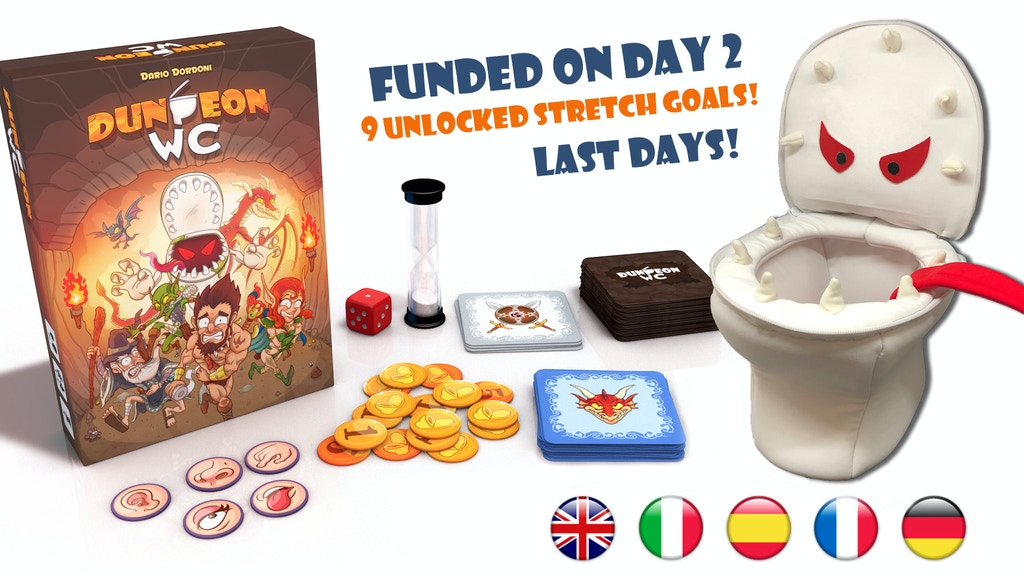 Dungeon Wc By Dracomaca Games Kickstarter