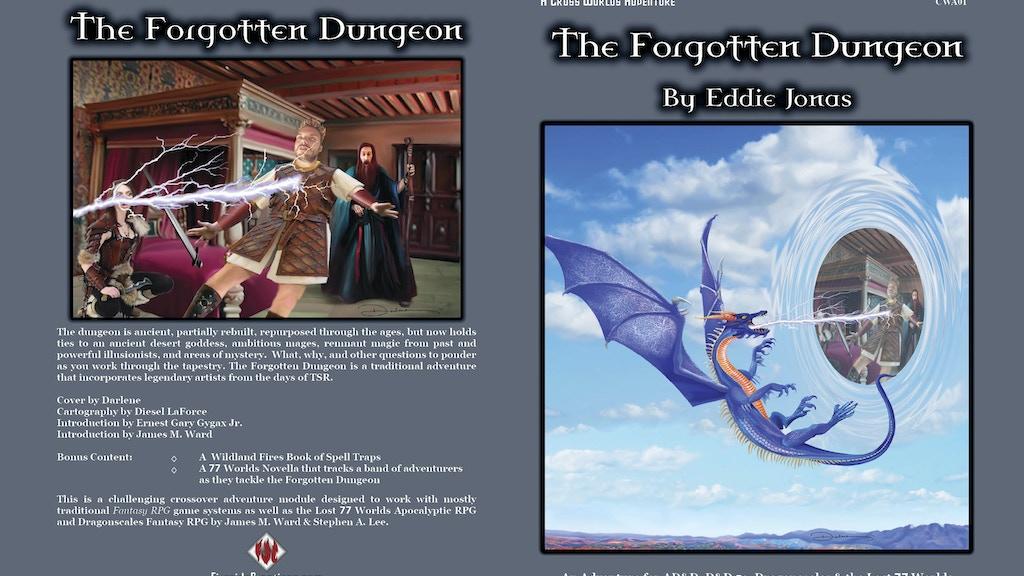 Eddie Jonas Forgotten Dungeon Mega Adventure for AD&D D&D5e project video thumbnail