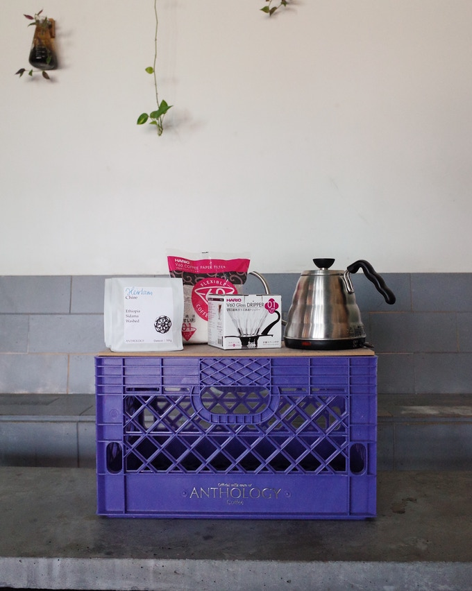 Home Brewing Crate