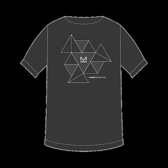 T-shirt Design 2 - Modal Electronics Geometric ADSR