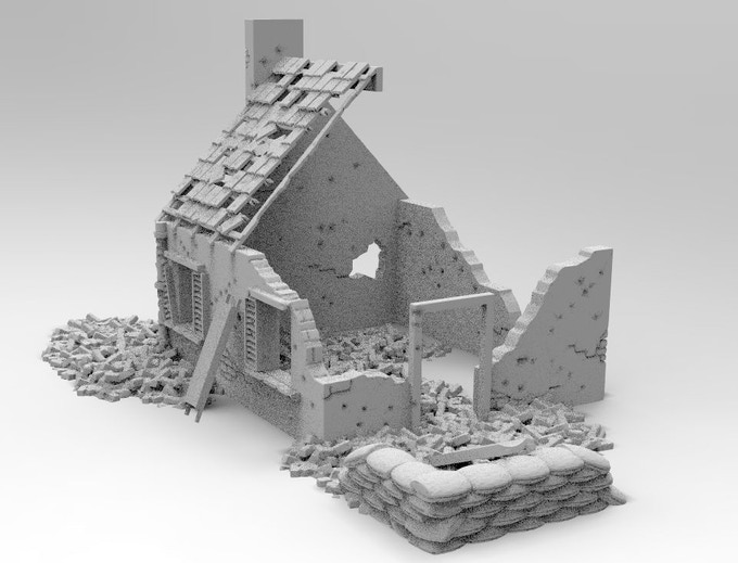Exhilarating image in printable terrain