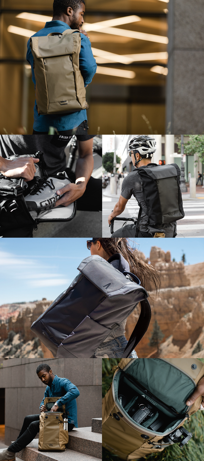 7aa9bd5c02 Errant  The Ultimate Everyday Backpack by Boundary — Kickstarter