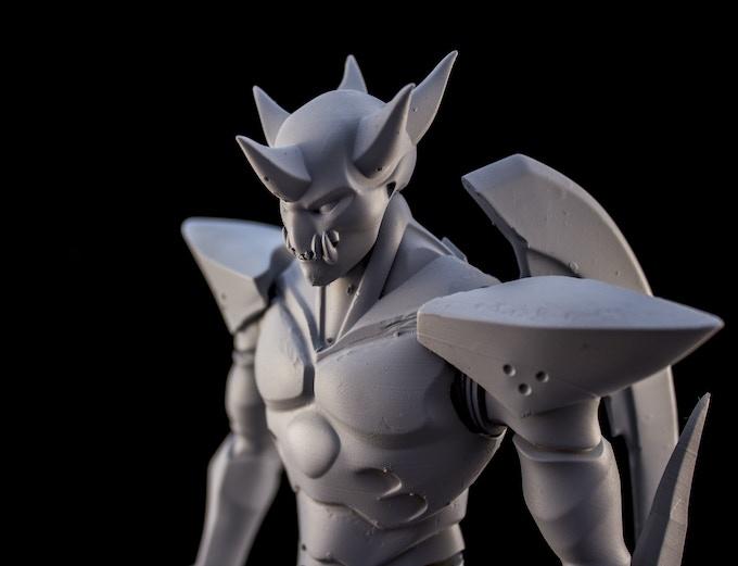 Prototype Statue