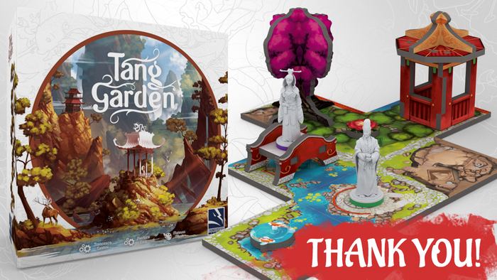 Build an imperial garden by creating the landscape and placing the scenery in a Zen-like euro game. Play solo or up to four players.