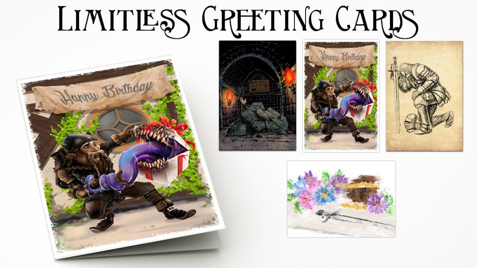 Quickstarter Gamer Greeting Cards Birthday To TPK