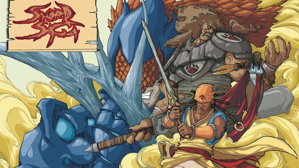 SWORD SAGA: Dragons Fall - Issue #1 project video thumbnail