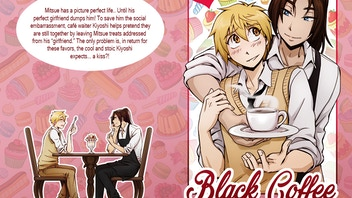 Black Coffee, an Original Boys Love (gay) Comic