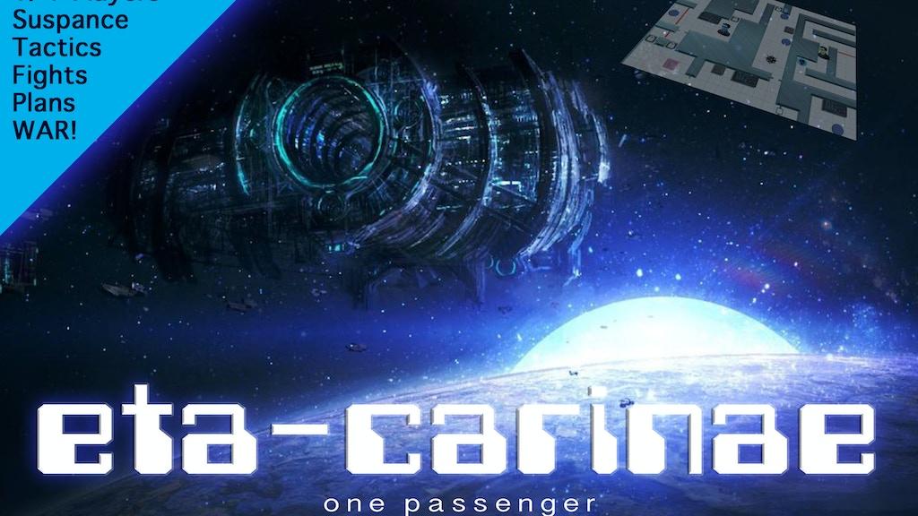 Project image for ETA-Carinae: a strategic/escape/battle tabletop game. (Canceled)