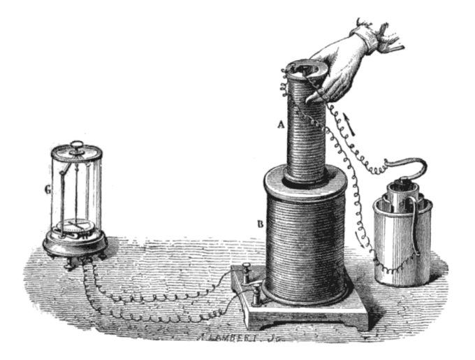 Michael Faraday's experiment