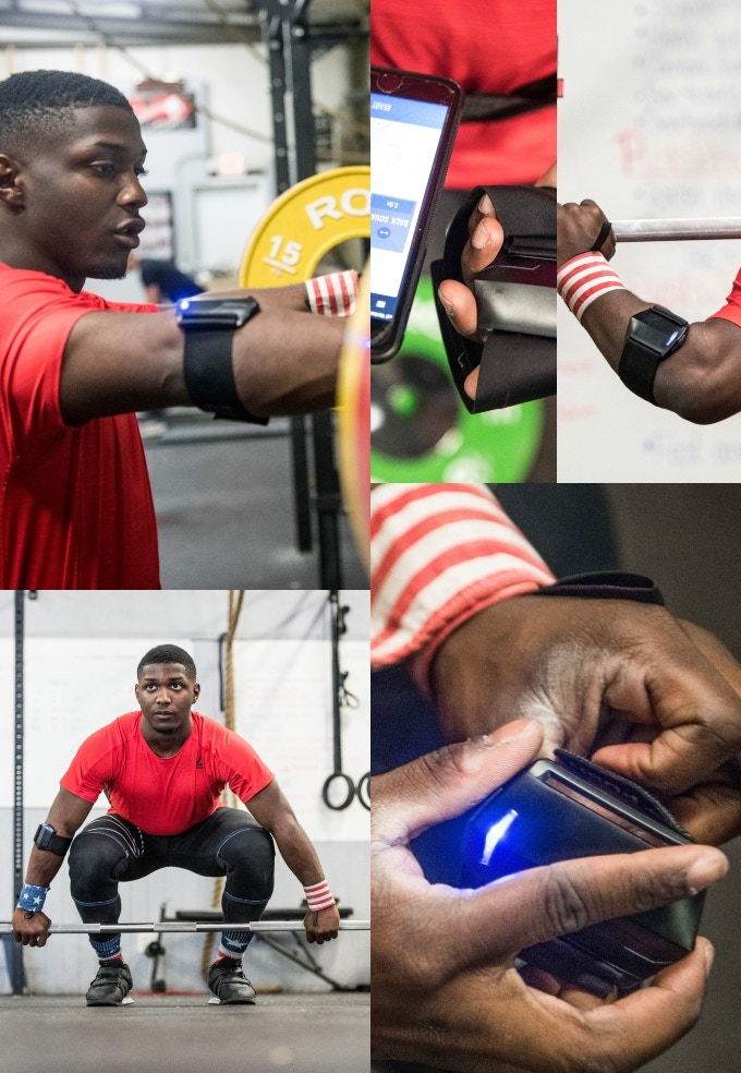 Push is the tool choice for CJ Cummings, an elite US Olympic Weightlifting Champion