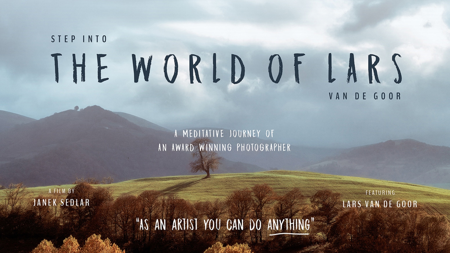 A visual documentary about an award winning photographer living in a camper van and traveling the world.