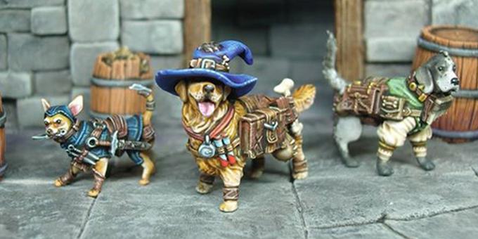 Tedric, Cornelius and Montague prepare for a new adventure.