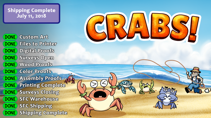 Get ready to gather your gear and head to the beach, where vendors are lining up to buy the crabs you catch. Let's Go Crabbing!
