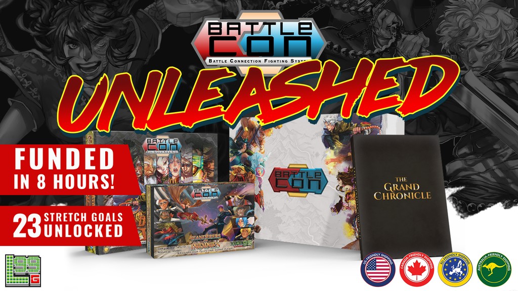 BattleCON: Unleashed - The Ultimate BattleCON Edition! project video thumbnail
