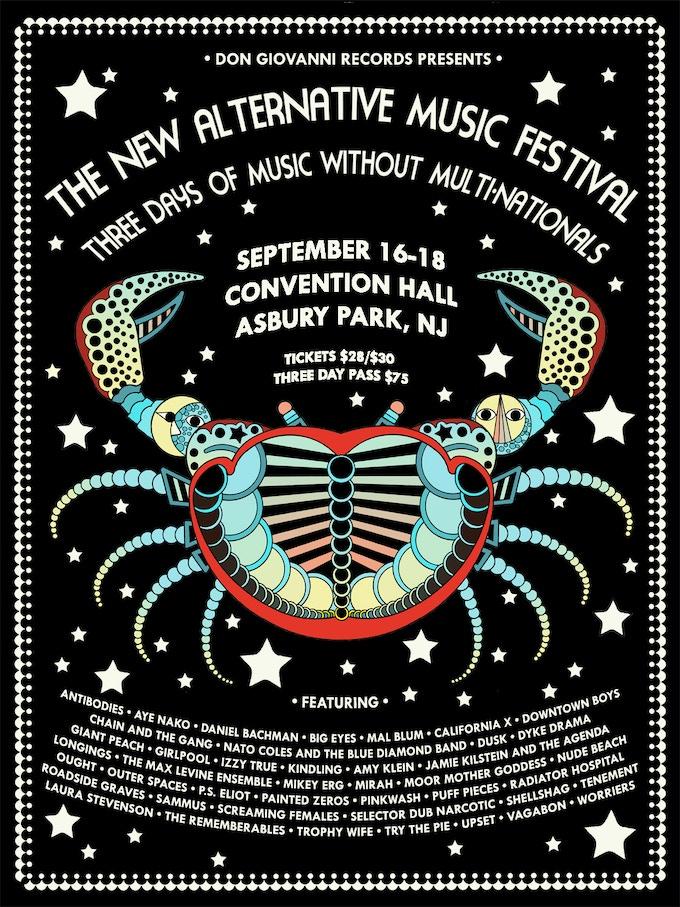 New Alternative Music Festival poster