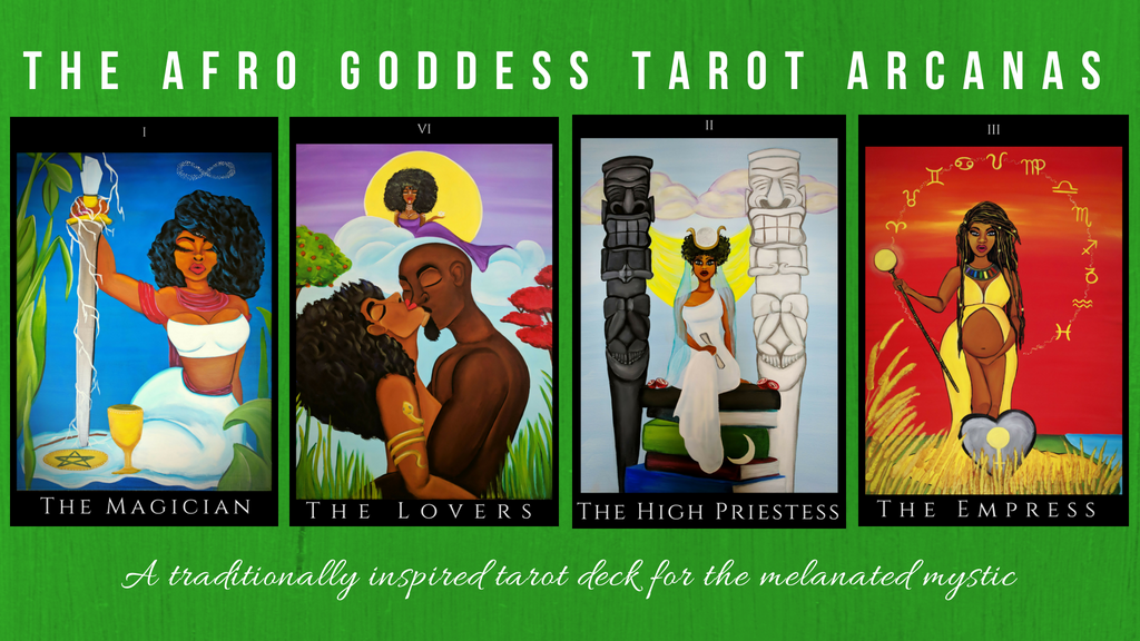 The Afro Goddess Tarot Arcanas project video thumbnail