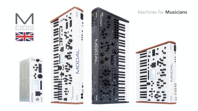 Modal 002R, 002, 008 and 001