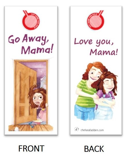 Tell Mom how you really feel with this door hanger