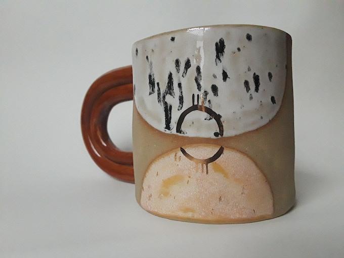 Curious Clay Jungle Mug (side 1) - $50 reward