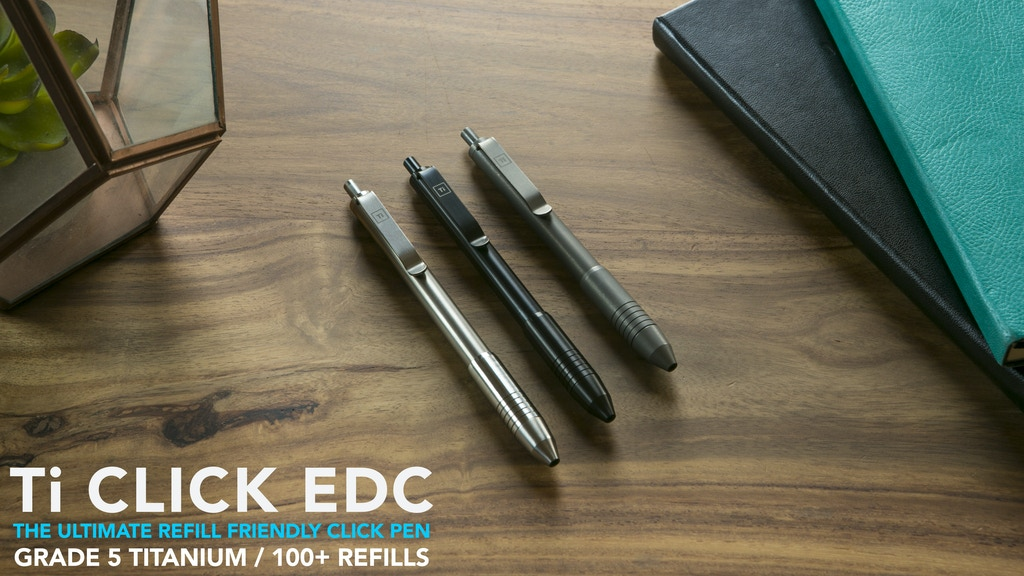 Ti Click EDC : The Ultimate Refill Friendly Click Pen is the top crowdfunding project launched today. Ti Click EDC : The Ultimate Refill Friendly Click Pen raised over $133416 from 41 backers. Other top projects include Introspection Album Physical Release, Investment Piece, ...