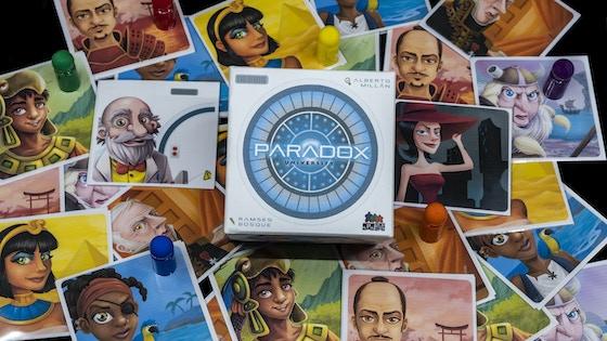 Paradox University board game